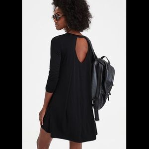 American Eagle Open Pleated Back Swing Dress